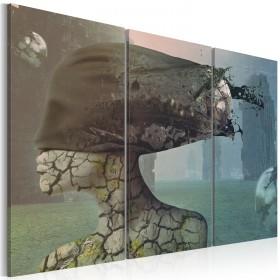 Foto schilderij - Brainstorm - triptych