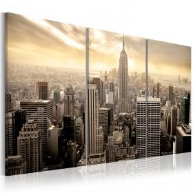 Foto schilderij - Good morning NYC!