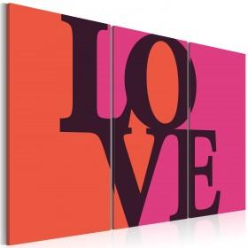 Foto schilderij - Where is the love?