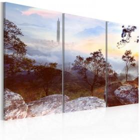 Foto schilderij - The highest tower