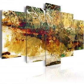 Foto schilderij - tuin: abstractie