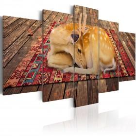 Foto schilderij - Domestication - 5 pieces