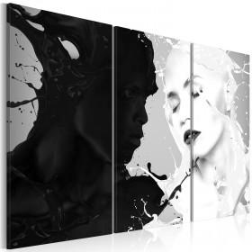 Foto schilderij - Paradox of feelings
