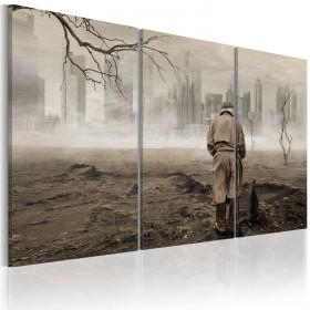 Foto schilderij - Self-reflection