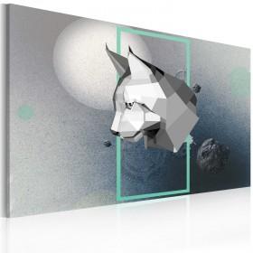 Foto schilderij - dier - 3D