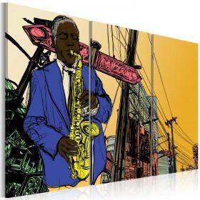 Foto schilderij - Jazz voor fijnproevers