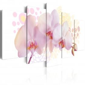 Foto schilderij - Finessed orchidee