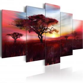 Foto schilderij - Wild savannah