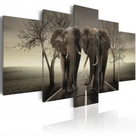 Foto schilderij - It's a wild World!