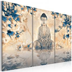 Foto schilderij - Boeddhistisch ritueel