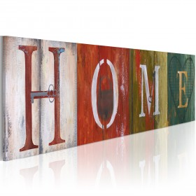 Foto schilderij - Welcome home!