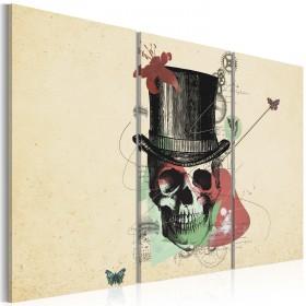 Foto schilderij - Gentleman's skeleton