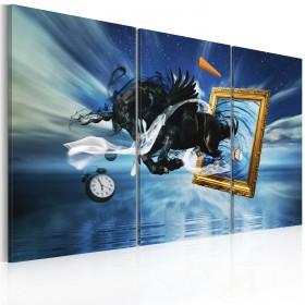 Foto schilderij - Fruition - triptych
