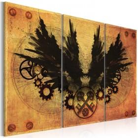 Foto schilderij - Mechanical wings
