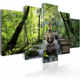 Foto schilderij - Stream of consciousness