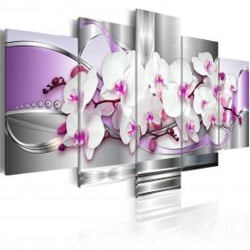 Foto schilderij - Orchidee en fantasie