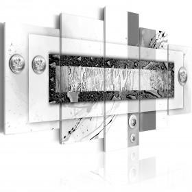 Foto schilderij - Gray Balance