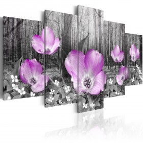 Foto schilderij - Woody flora