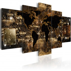 Foto schilderij - World of bronze