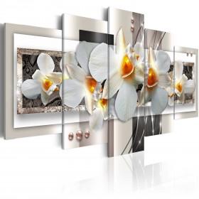 Foto schilderij - White discretion