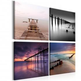 Foto schilderij - Four Views