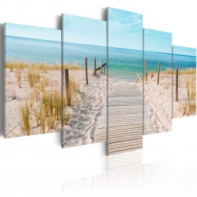 Foto schilderij - Towards The Sea