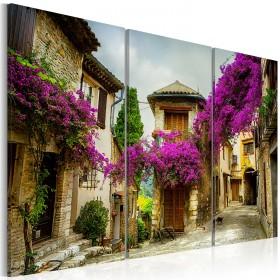 Foto schilderij - Charming Alley