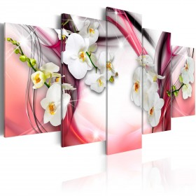 Foto schilderij - Pink Melody
