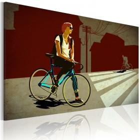 Foto schilderij - City Trip
