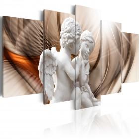 Foto schilderij - Angelic Duet