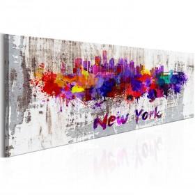 Foto schilderij - City of Artists