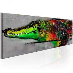 Foto schilderij - Colourful Beast