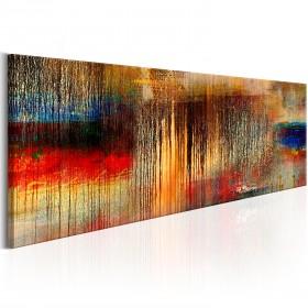 Foto schilderij - Autumn Rain