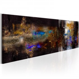 Foto schilderij - Golden Amplitude