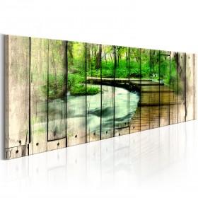 Foto schilderij - Forestry Memories