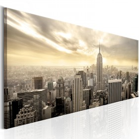 Foto schilderij - City in the Sun