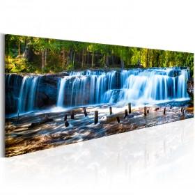 Foto schilderij - Beautiful Waterfall