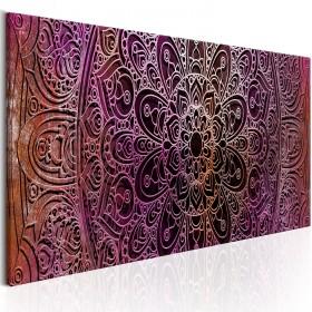 Foto schilderij - Mandala: Amethyst Energy