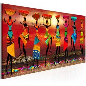 Foto schilderij - African Women Dancing