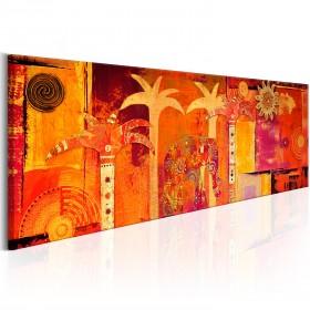 Foto schilderij - African Collage