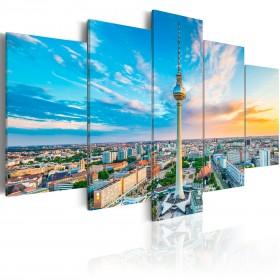 Foto schilderij - Berlin TV Tower, Germany