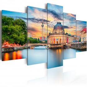 Foto schilderij - Museum Island, Berlin