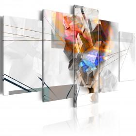 Foto schilderij - Abstract Tower