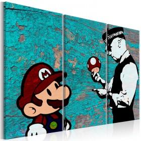 Foto schilderij - Banksy: Cracked Paint