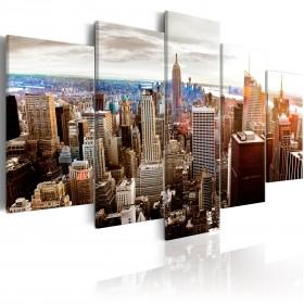 Foto schilderij - Grey Tower Blocks