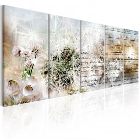 Foto schilderij - Abstract Dandelions I
