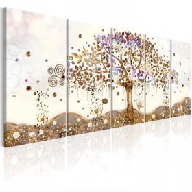 Foto schilderij - Dazzling Tree