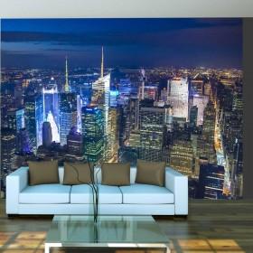 Fotobehang - Manhattan - night