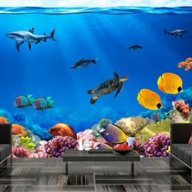 Fotobehang - Underwater kingdom