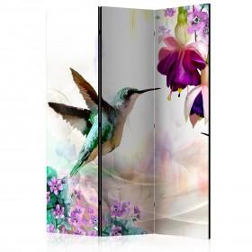 Kamerscherm - Hummingbirds and Flowers
